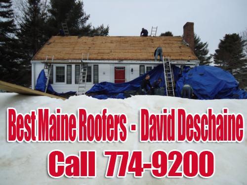 Best Maine Roofers Snow - David Deschaine
