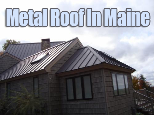 Metal Roof In Maine