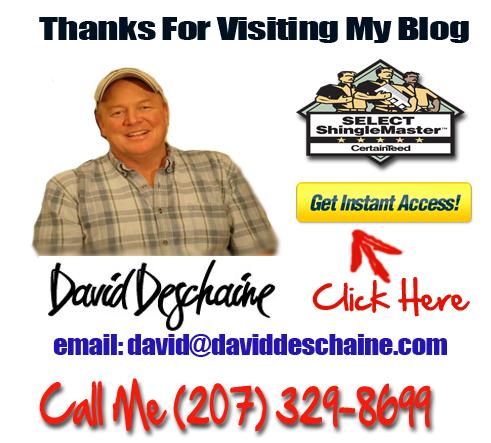 Spring Roofing In Maine - Dave Deschaine