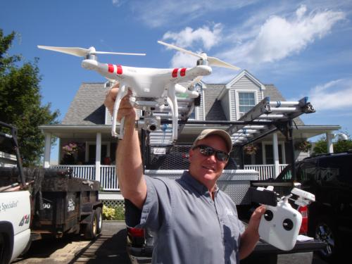 Roofing Inspections Using Drones Maine Roofing Blog