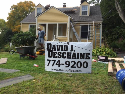 David Deschaine Roofing Shingles