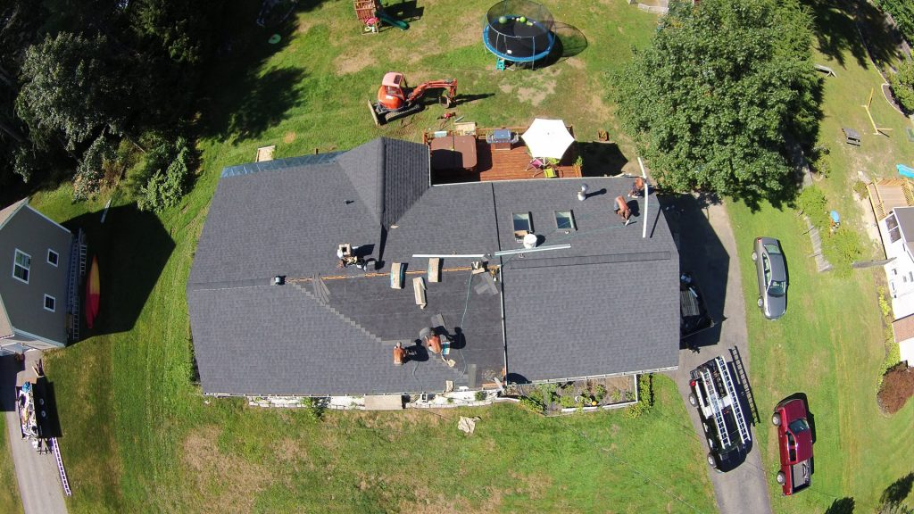 Roofers Using Drones In Maine
