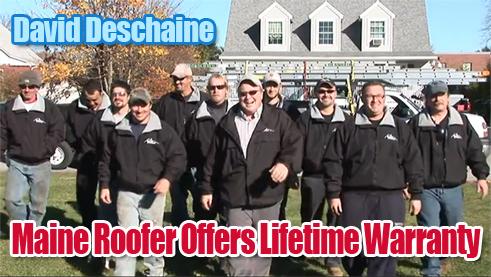 Maine Roofer Offers Lifetime Warranty