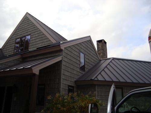 Metal Roofing In Maine By David Deschaine Maine Roofing Blog